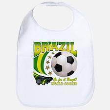 Brazil Soccer Goal Kick 2010 Bib