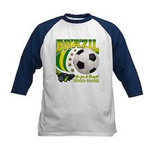 Brazil Soccer Goal Kick 2010 Tee
