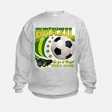 Brazil Soccer Goal Kick 2010 Sweatshirt