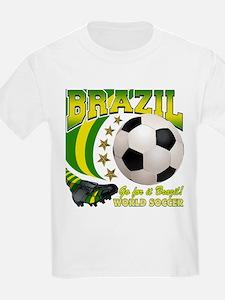 Brazil Soccer Goal Kick 2010 T-Shirt