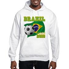 Brazil Brasil World Soccer Hoodie