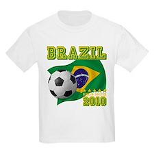 Brazil Brasil World Soccer T-Shirt