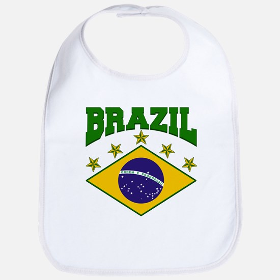 Brazil Soccer Flag 2010 Bib