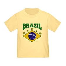 Brazil Soccer Flag 2010 T