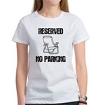 Reserved Parking Women's T-Shirt