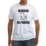 Reserved Parking Fitted T-Shirt