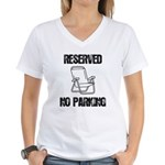 Reserved Parking Women's V-Neck T-Shirt