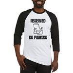 Reserved Parking Baseball Jersey