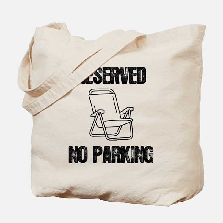 Reserved Parking Tote Bag
