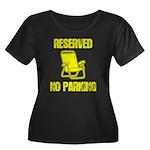 Reserved Parking Women's Plus Size Scoop Neck Dark