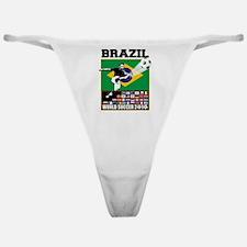 Brazil World Soccer Goal Classic Thong