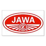 Jawa Rectangle Sticker