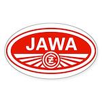Jawa Oval Sticker