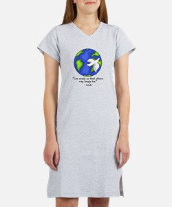world_gandhi_livesimply T-Shirt