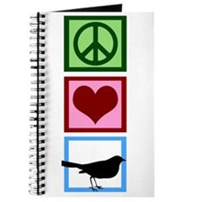 Peace Love Birds Journal