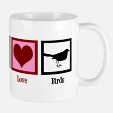 Peace Love Birds Mug