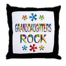 Granddaughter Throw Pillow