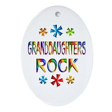 Granddaughter Ornament (Oval)