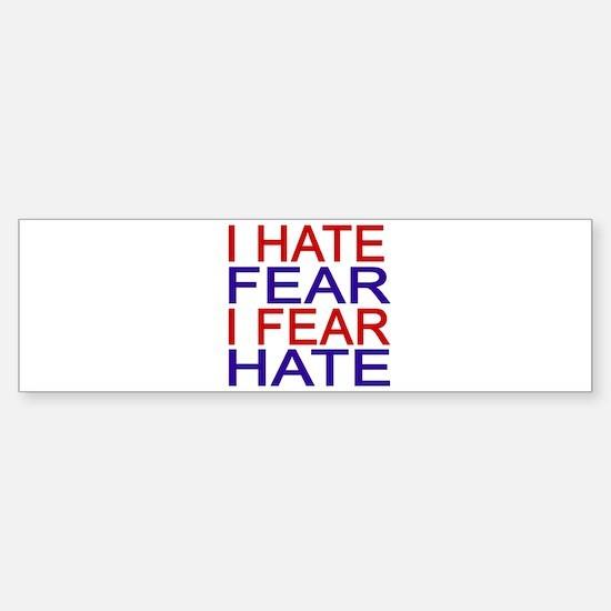 Cute Extremist Sticker (Bumper)