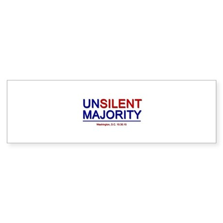 unsilent2 Bumper Sticker