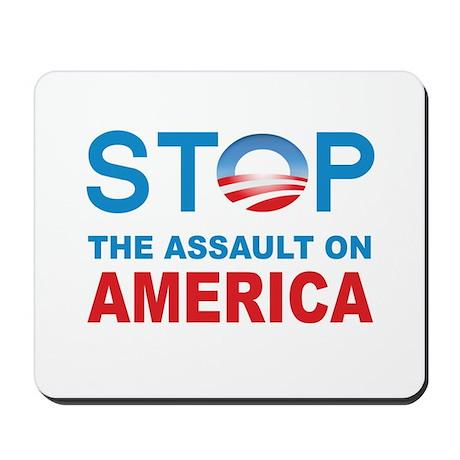 Stop The Assaut On America Mousepad