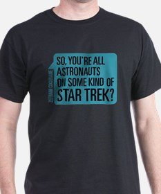 Star Trek Zefram Cochrane Quote T-Shirt