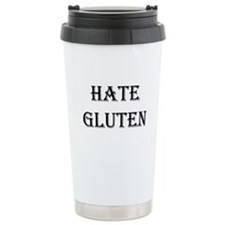 HATE GLUTEN Travel Mug