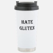 HATE GLUTEN Travel Mug