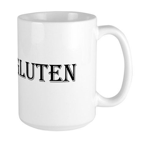 HATE GLUTEN Large Mug