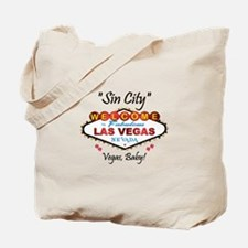 Vegas Sin City Tote Bag