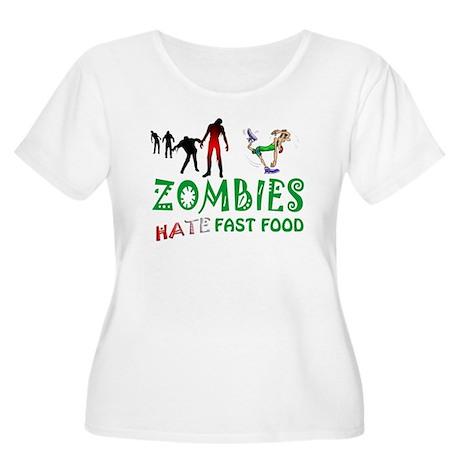 Zombies Women's Plus Size Scoop Neck T-Shirt