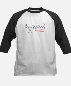 Brielle name molecule Kids Baseball Jersey