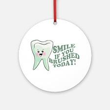 Funny Dentist Humor Ornament (Round)