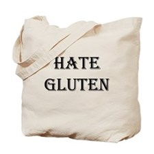 HATE GLUTEN Tote Bag
