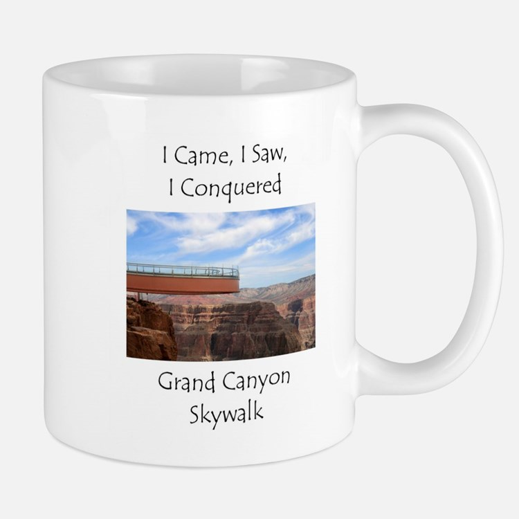 Grand Canyon Skywalk Survivor Mug
