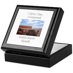 Grand Canyon Skywalk Survivor Keepsake Box