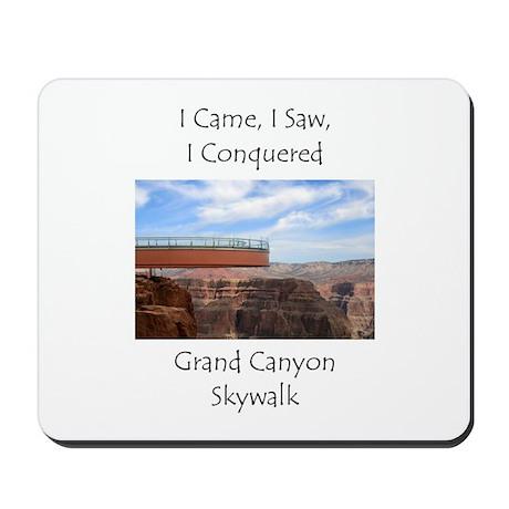 Grand Canyon Skywalk Survivor Mousepad