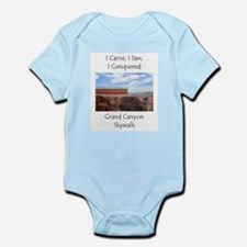Grand Canyon Skywalk Survivor Infant Bodysuit