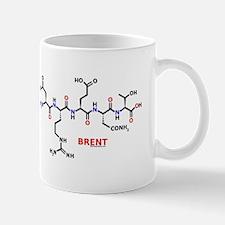 Brent name molecule Mug