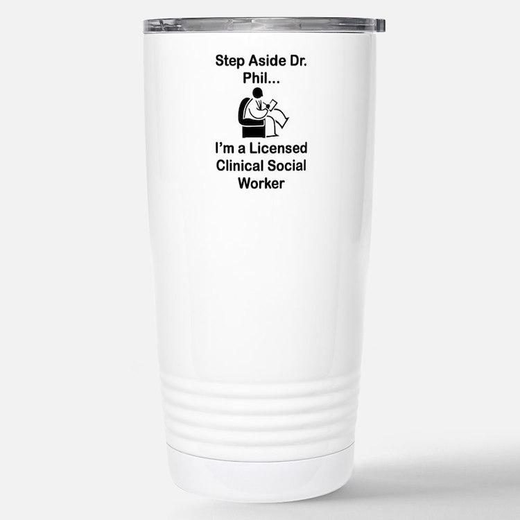 Dr. Phil Travel Mug