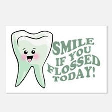 Funny Dentist Humor Postcards (Package of 8)