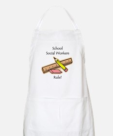 Social Workers Rule Apron