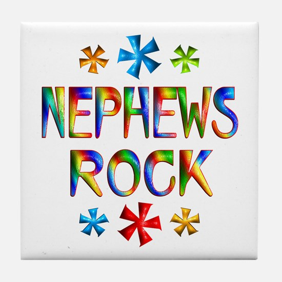 Nephew Tile Coaster