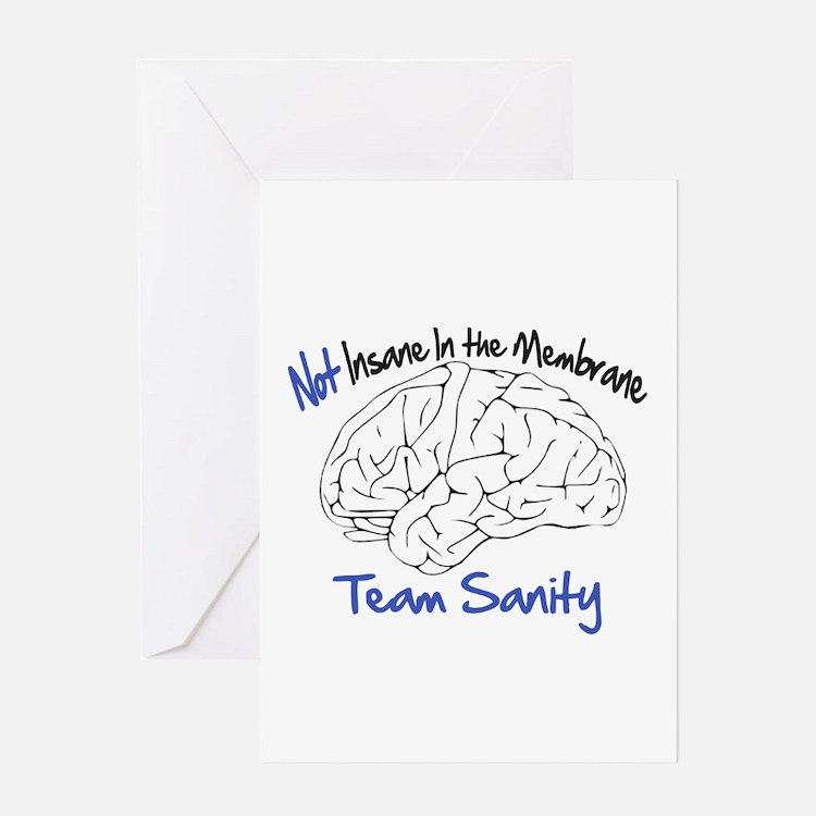 Cute Team fear Greeting Card