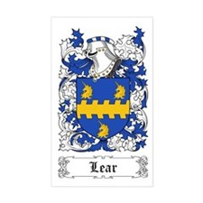 Lear Sticker (Rectangular)