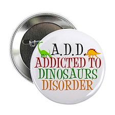 "Funny Dinosaur 2.25"" Button"