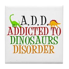 Funny Dinosaur Tile Coaster