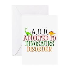 Funny Dinosaur Greeting Card