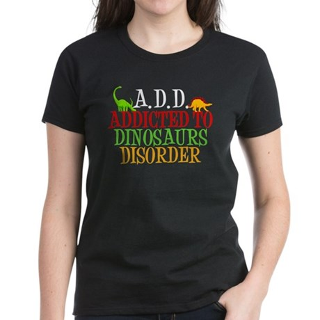 Funny Dinosaur Women's Dark T-Shirt