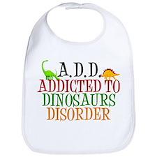Funny Dinosaur Bib